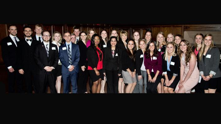 UMD LSBE students inducted in BGS