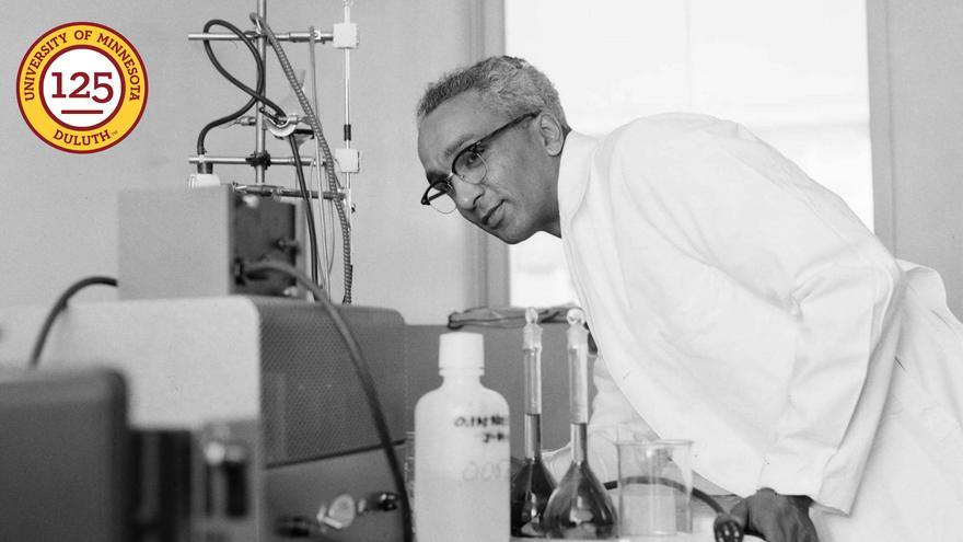 UMD Chemistry Lab Supervisor Bill Maupins.