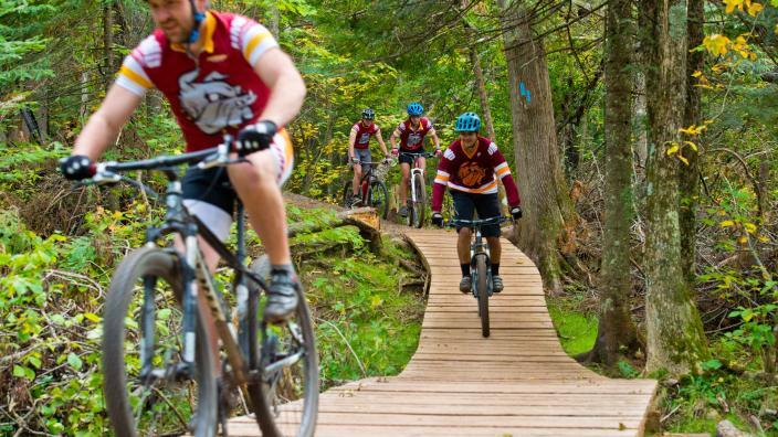 UMD Cycling Club biking