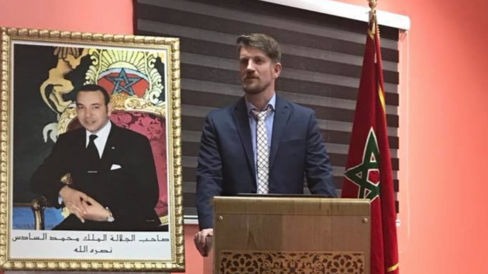 Olaf Kuhlke in Morocco