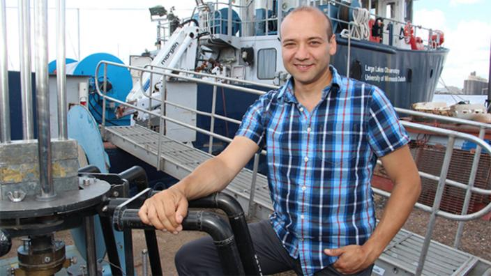 UMD Associate Professor Sergei Katsev