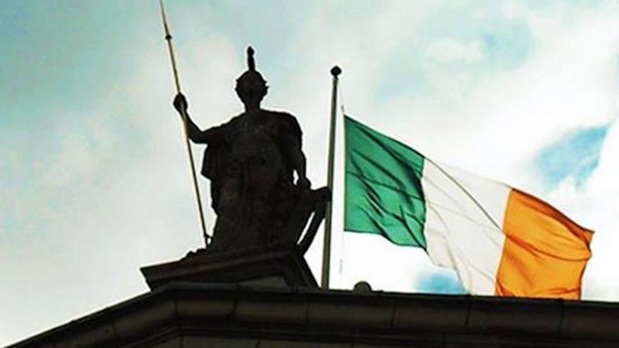 image of an Irish flag