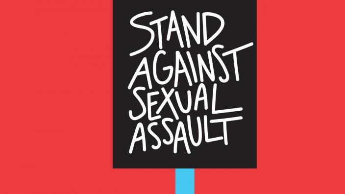 Sign for Stand Up Against Sexual Assault