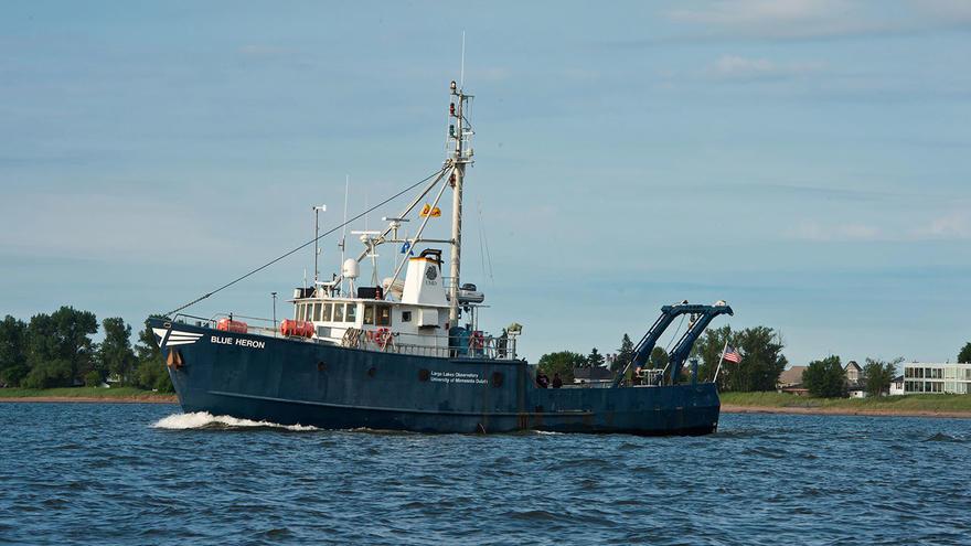 University of Minnesota Duluth research vessel Blue Heron