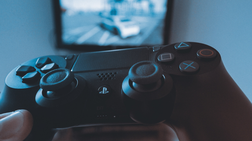 Image of video game controller