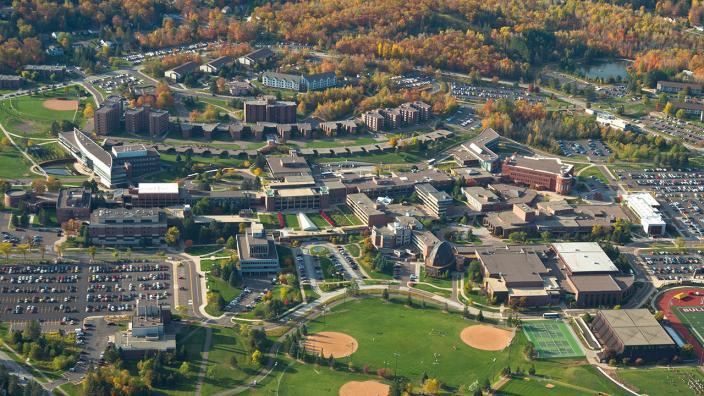 UMD campus aerial