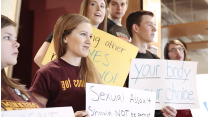 Students at the 2017 Stand In