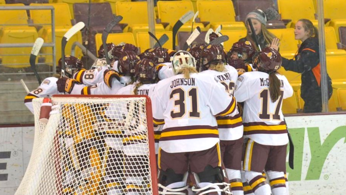 UMD Women's Hockey Team