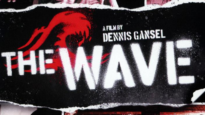 """Image from film """"The Wave"""" poster"""