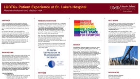 UMD Research poster:Clinical Depression in Transgender Patients