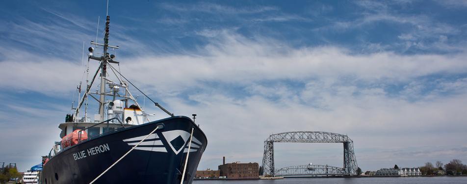 UMD's Research Vessel Blue Heron