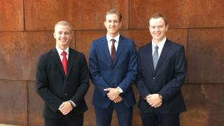 UMD LSBE students in Financial Markets Program