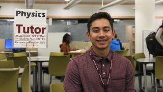 UMD student Shane Johannsen