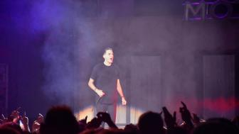 G-Eazy performs at Amsoil Arena on April 1. Photo Credit: Adam Quandt, The Statesman