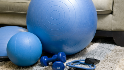 Fitness equipment at home