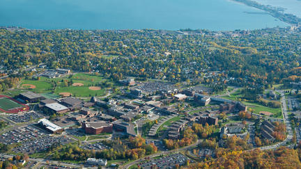 UMD as seen from the air