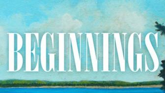 "Cover of the book, ""Beginnings"""