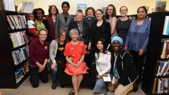 Dr. Bilin Tsai and UMD women faculty