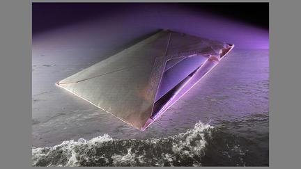 Gloria DeFilipps Brush's work (Untitled 8600): Large envelope