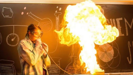Excitement abounds at the Chemistry Show