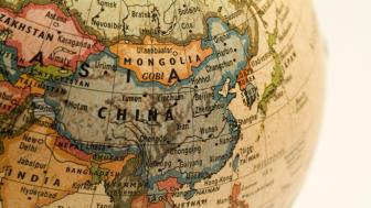 A map of China