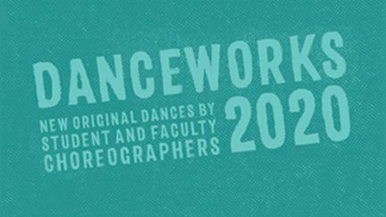 Graphic for UMD DanceWorks 2020