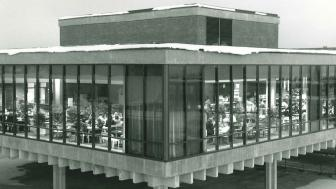 Old photo of the Residence Hall Dining Center