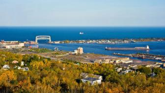 Duluth in the fall