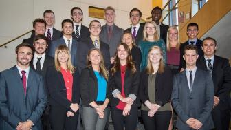 UMD students involved in UMD Enterpreneurship Conference