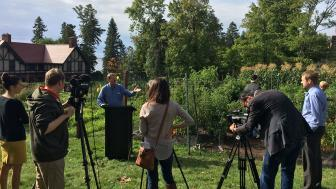 Glensheen and Second Harvest news conference