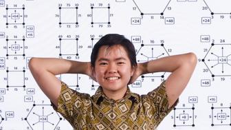 UMD graduate student Inne Singgih
