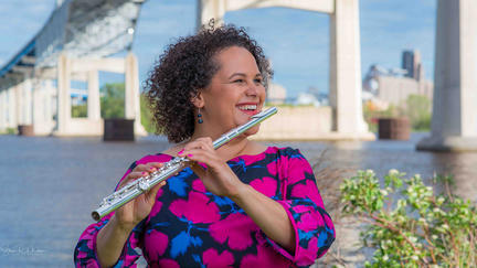 UMD Assistant Professor of Flute Paula Gudmundson