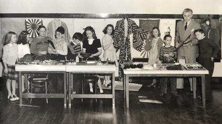 John Hatten's 4th grade class