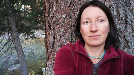 UMD NRRI aquatic ecologist and data scientist Katya Kovalenko