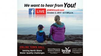 Minnesota SeaGrant Facebook Live event