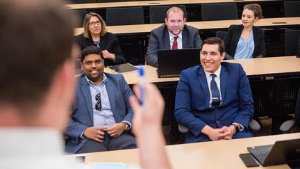 UMD students in the LSBE MBA program