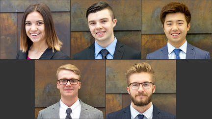 Five UMD LSBE Marketing Analytics Program students