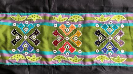 A pattern from the I Am Anishinaabe dress