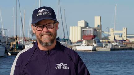 Blue Heron captain Rual Lee