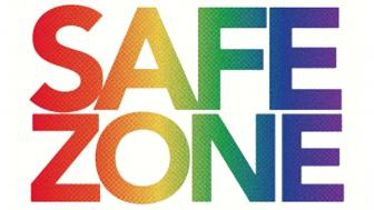 "the words ""safe zone"""