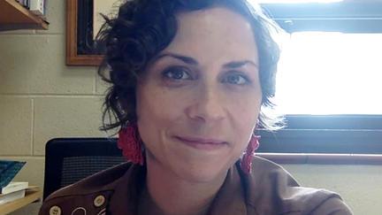 UMD Art History Assistant Professor Sara Blaylock