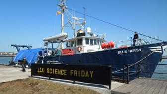 The R/V Blue Heron