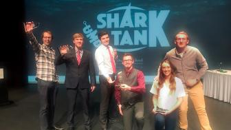 Winners of the 2018 UMD Shark Tank