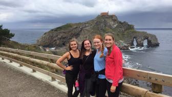 UMD student Elle Ickert studied abroad in Spain
