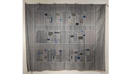 Professor Eun-Kyung Suh's fiber art