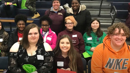 Young people in UMD's Upward Bound Vision Quest