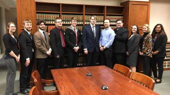 UMD Mock Trial Team 2018