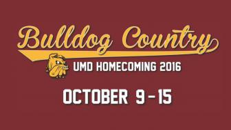 UMD Homecoming Ad