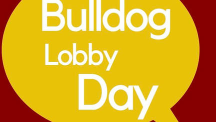 Bulldog Lobby Day graphic