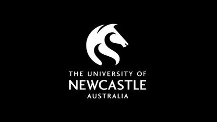 The University of Newcastle (UoN), Australia logo - horses head